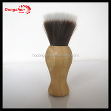 New style wood handle synthetic hair big kabuki brush,makeup ds cosmetic brushes