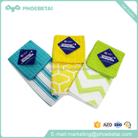 Microfiber kitchen cleaning cloth saled to Wal-mart with cheaper price