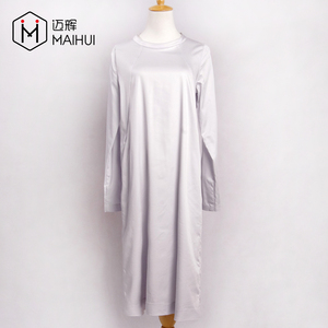 Alibaba Gold Supplier Top selling Casual Long Dress Long Sleeve Muslim Styles Dresses