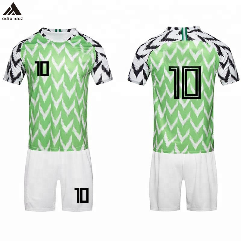 super popular 26aa3 f7cde New Design Popular 2018 Nigeria National Team Sublimation Soccer Jersey  Uniform - Buy 2018 World Cup Soccer Jerseys,Team Soccer Jerseys  Cheap,Custom ...