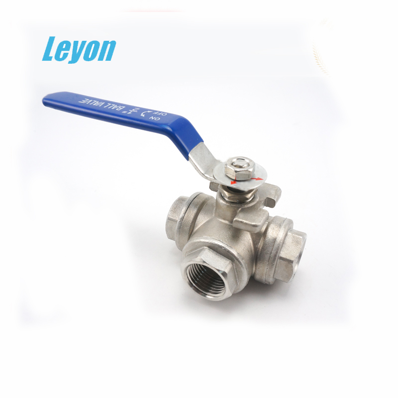 stainless steel ball valves with electric actuator sanitary 3-way ball valve three way ball valve