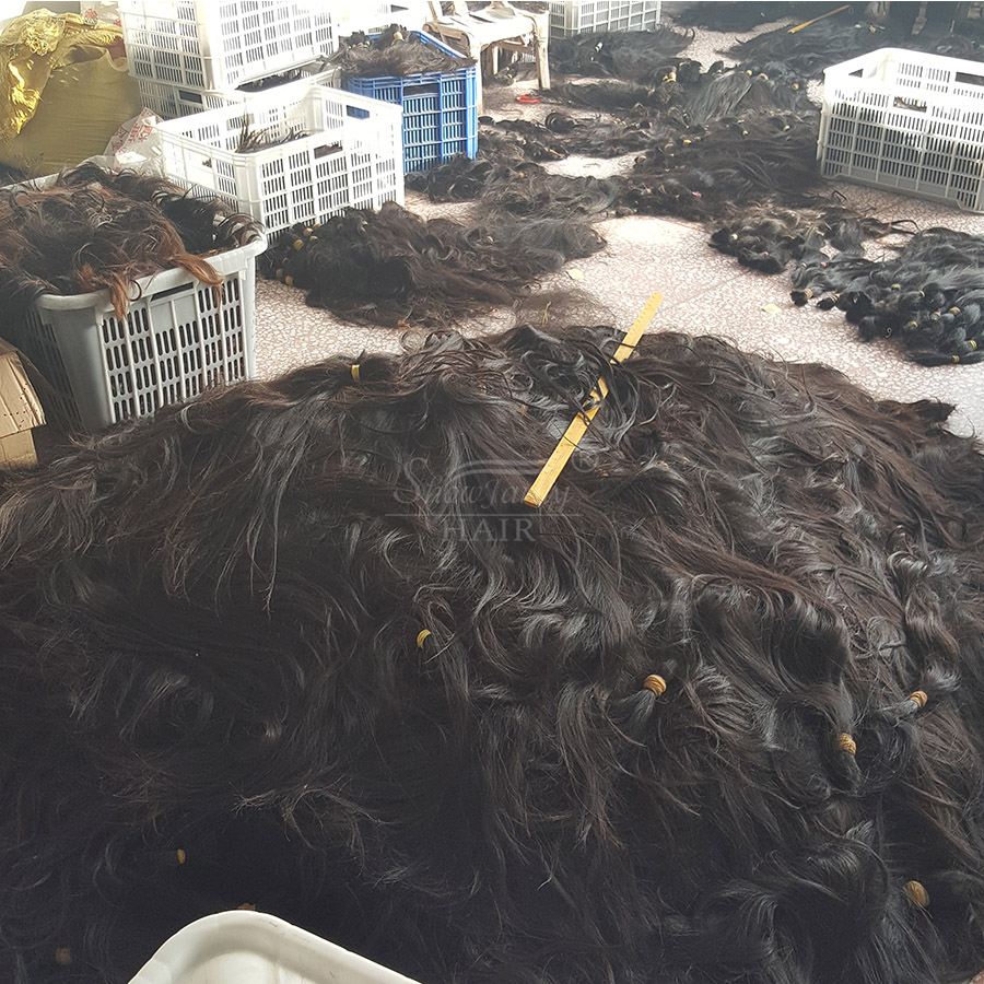 aliexpress china virgin hair bulk for wig making Factory Price indian hair wholesale cuticle aligned virgin hair vendors