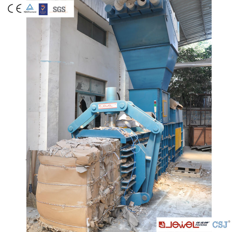 Automatic OCC Paper, Cardboard, Waste Paper Recycling Pressing Baler Machine