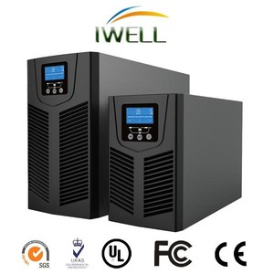 CT Series single phase LCD 3kva high frequency Online UPS with Warranty