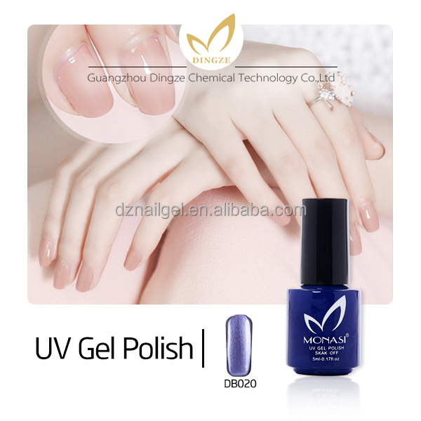 Nail Art Soak Off Gel Polish UV Gel Nail Polish with different Colors