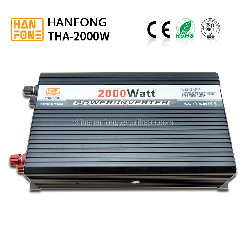 Power inverter dc to ac 2000w solar converter from China manufacturer
