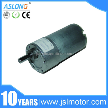 24v Jgb37-545 Eccentric High Torque Low Rpm Electric Motor