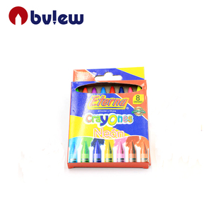 8 Colors Neon Crayons Perfect for Classroom Art Activities