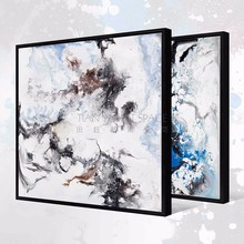 Modern wall art abstract canvas oil painting framed oil pictures and murals