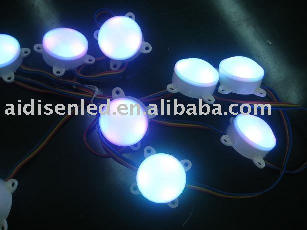 Construccion signos led rgb digital light puede auto running