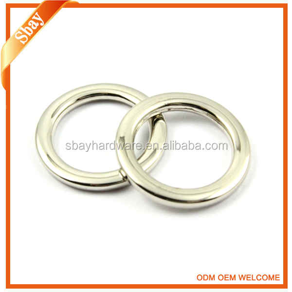 Wholesale handbag o-ring/metal o ring/o ring belt buckle
