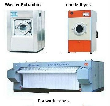 Widly used in hotel commercial Laundry equipment(washer extractor,dryer,ironer)
