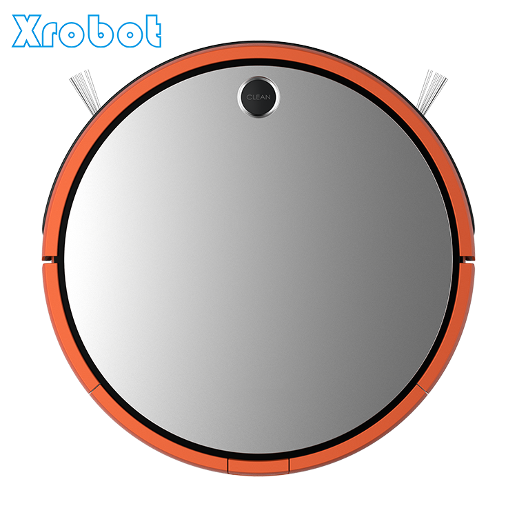CE RoHS certificate intelligent app control robotic vacuum cleaner with Gyroscope Navigation Series