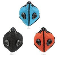 Anti-Pollution Dust Motorcycle Cycling Running Riding Half Face Mask Carbon Cloth Filter