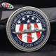 Business gift US and Europe regional feature cheap custom challenge coins no minimum
