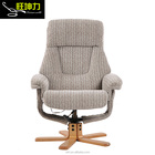affordable Fabric massage leisure recliner chair with footrest living room furniture