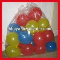 Wholesale custom printed ldpe plastic packing bags for balloon