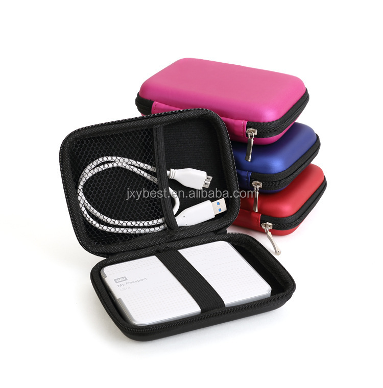 Factory Wholesale high quality <strong>hard</strong> shockproof eva <strong>case</strong> for 2.5 inch HDD for Power banks for cables for chargers storage bag