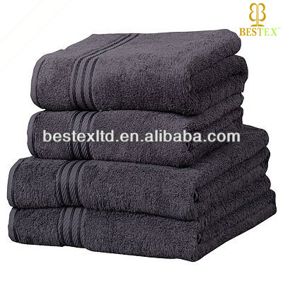 Luxury Home style Soft Bathroom Cleaning Cotton gift towel set alibaba china