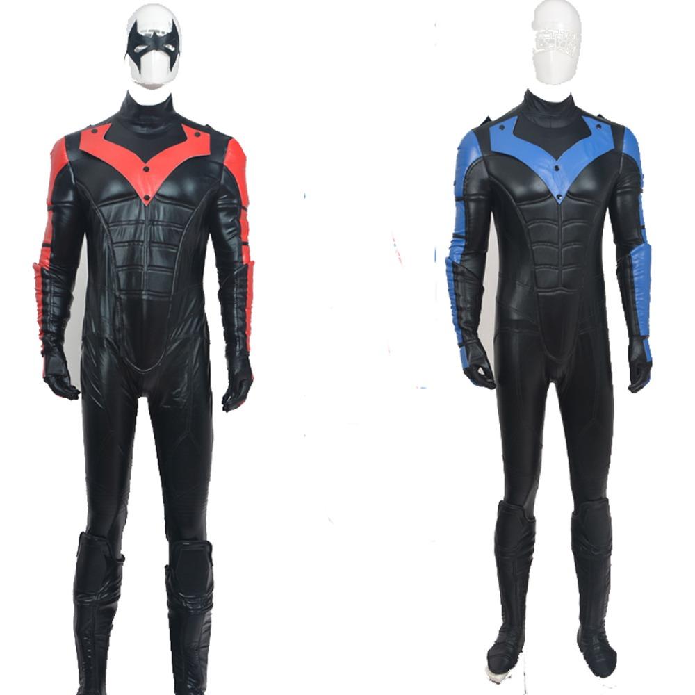 Aliexpress.com : Buy DC Comics Nightwing Costume Superhero ...