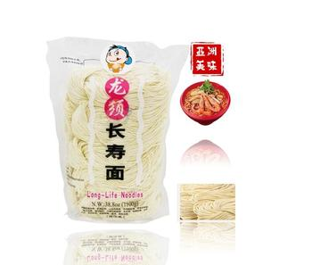 Thai noodles Fresh Long Xu Thin Noodles Family Size 10*100g per Bag 10 people sharing