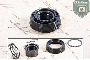Model 4/15 Delta Ring Assembly To Exacting Mil-Spec Standards for Model 4/15 .223 5.56 Complete with Barrel nut, Weld Spring, Snap Ring, Delta Ring Included Extra Snap Ring