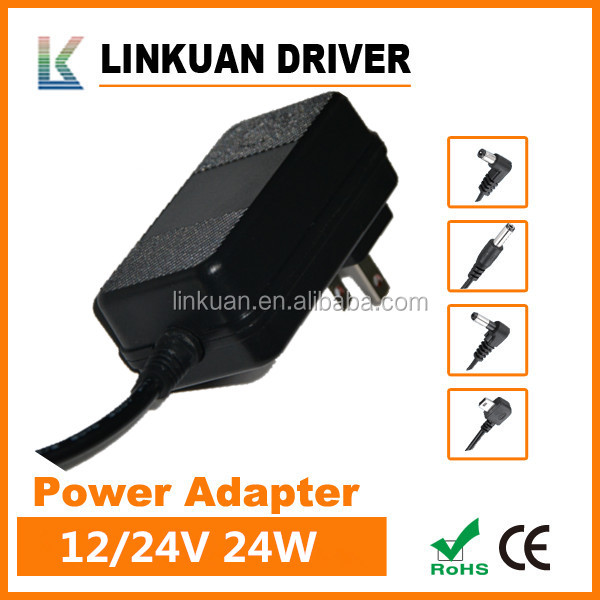 AC 100V~240V 24v 1a 24w power adapter for led light