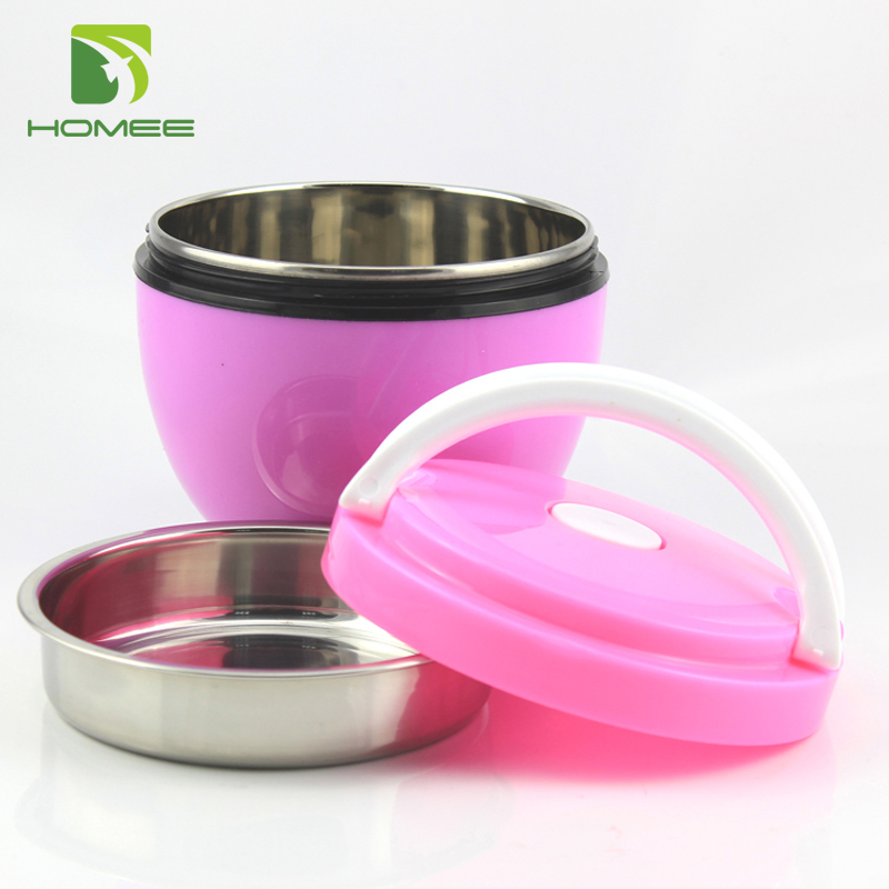 Popular heating lunch tiffin box keep food hot