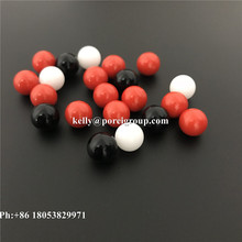 factory sell colored 5mm 6MM 7MM 8MM plastic PP POM PA ABS PTFE solid ball Teflon RED Balls