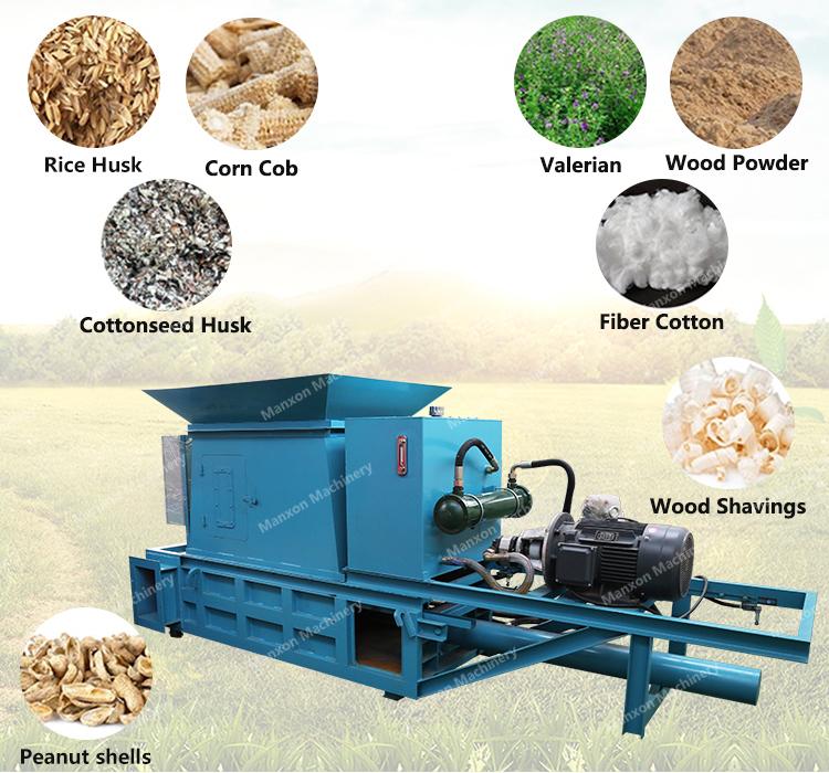 Alta Capacidade de Mini Prensa Silagem Envoltório cortador de Grama Máquina de Fardos de Feno Quadrados