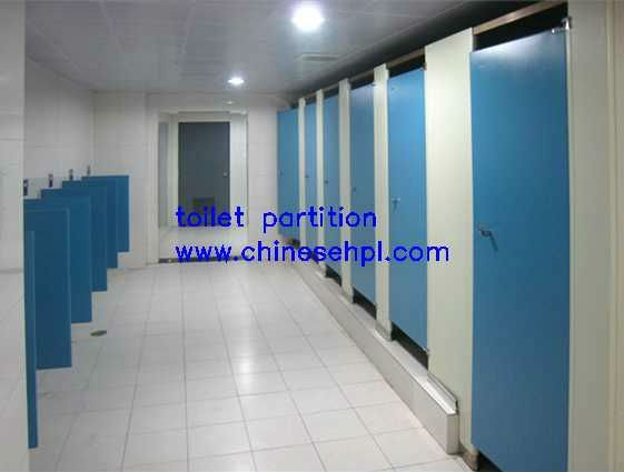LIJIE water resistance phenolic toilet partition with nylon accessories