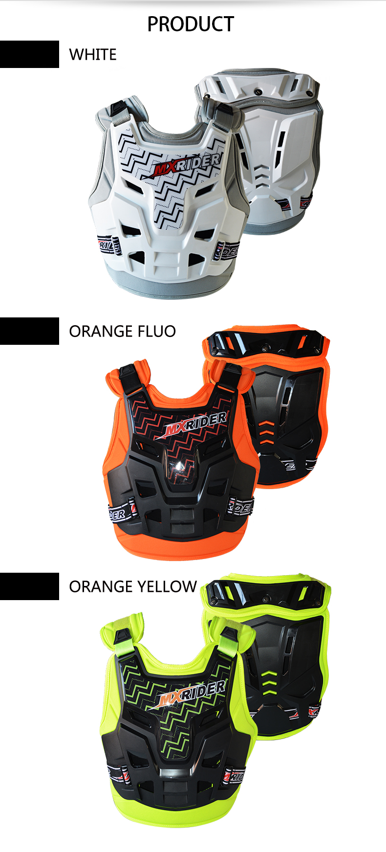 Motorcycle Full Body Armor from YF protector Motocross Chest Protector