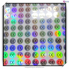 CE Certificated laser label Hologram printer Sticker Label Electronic and Home Applied Waterproof Adhesive Laser Label