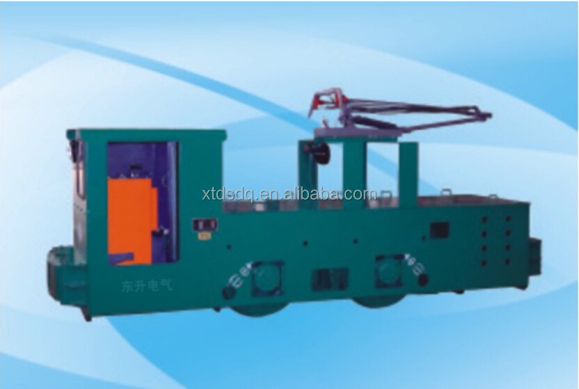 10T Explosion-Proof Electric Trolley Diesel Locomotive For Mining