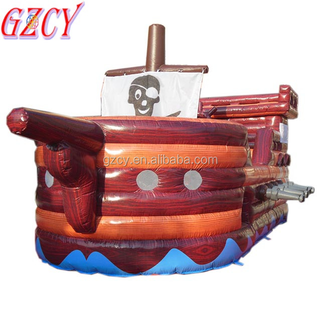 Indoor inflatable pirate boat bouncers for kids,giant inflatable bouncer for rental