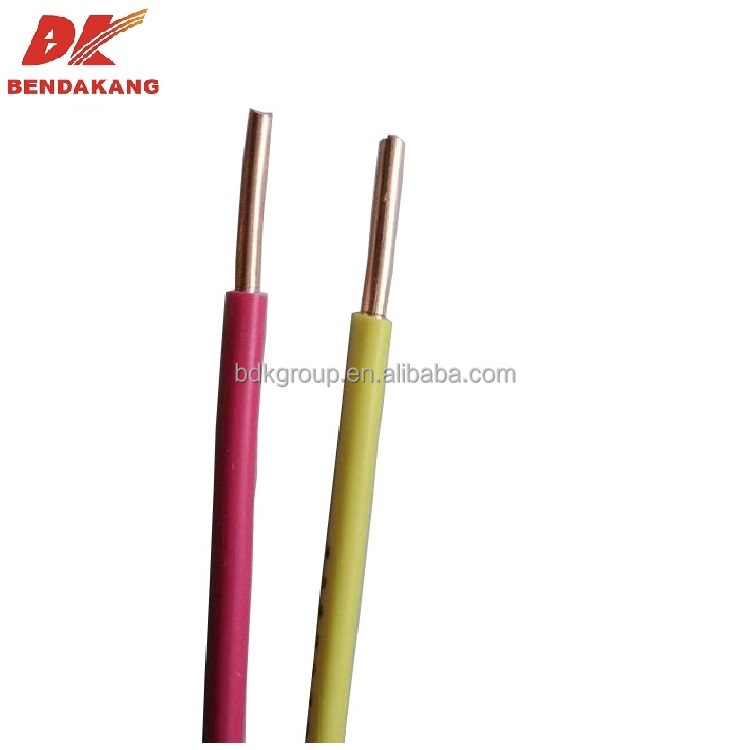 Solid Conductor Pvc Insulated Single Core Wire, Solid Conductor Pvc ...