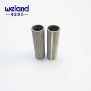 1-300 micron 316 Mesh 10-300MM diameter Sintered Stainless Steel Sintered Mesh Filter Pipe