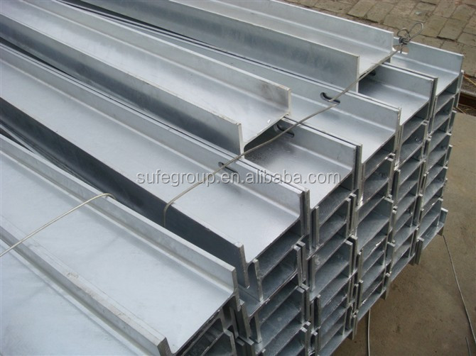 galvanized W beam freeway guardrail