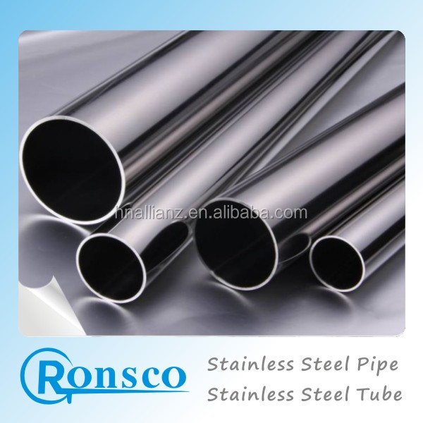 flexible sus304 stainless steel tube/pipe for stainless handrail use