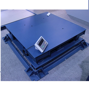 Industrial Floor Weighing Electronic Mild Steel 10 Ton Heavy Duty Capacity Industrial Durable Buffer Floor Weighng