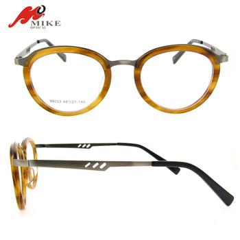 c89db0d1cdffc Círculo do vintage óculos armações de óculos, rodada forma de prescrição ...