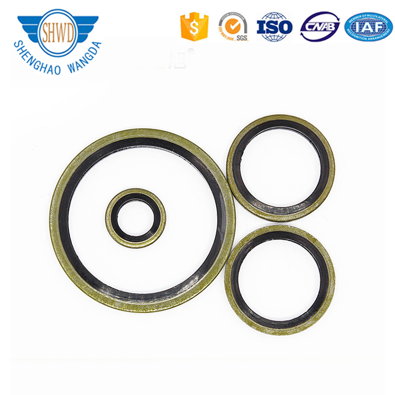 Chinese Manufacturer Engine Pump Carbon Steel Rubber Combination Gasket Compound Gasket Seal Metal Gasket