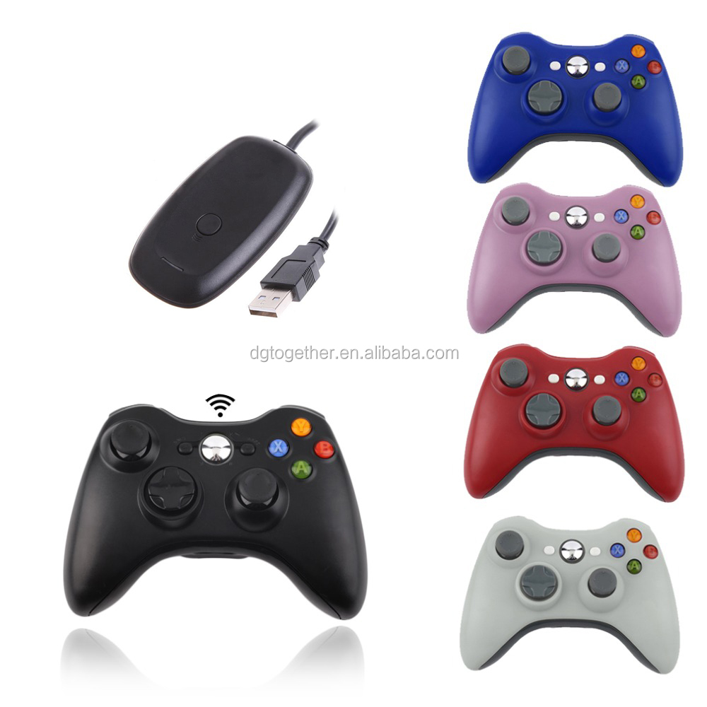 wireless game controller for xbox360 video games accessories gamepad for xbox 360