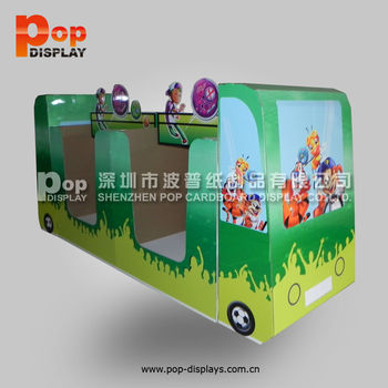 New Products Pos Corrugated Template Cardboard Display Box,Car Pallet  Display Rack,Counter Display  floor Display - Buy Pos Corrugated Pallet