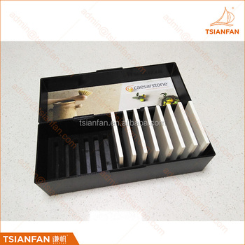 Factory custom stone tile sample box plastic sample box