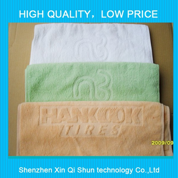100% cotton towel luxury hotel towel terry embroidered towel set