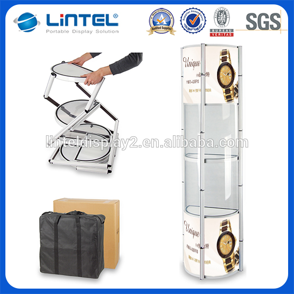 popular exhibition events acrylic cosmetic display stand for selling