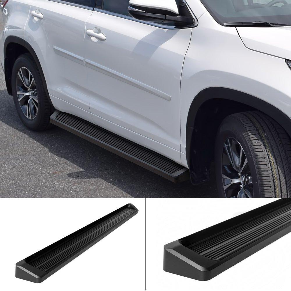 Get Quotations Matte Black 6 Iboard Running Boards Fit 14 16 Toyota Highlander Nerf Bar Side