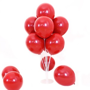 10 Inch Ruby Red Pearl Latex Helium Balloons Birthday Christmas party decoration wedding