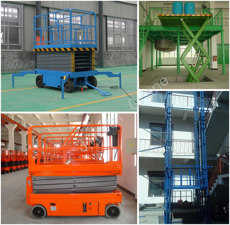 Hydraulic Lifting Platform Electric Mobile Scissor Lift Table